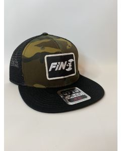 Fin-S Trucker Hat (Camo)